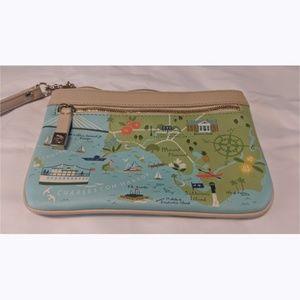 Spartina 449 Daufuski Island SC Wristlet Bag Purse